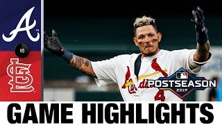Yadier Molina lifts Cardinals to comeback win in NLDS Game 4 | Braves-Cardinals Game Highlights