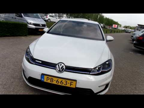 Volkswagen e-Golf GP   100% elektrisch!  Pure White  NEW E-Golf GP 3d achterlichten