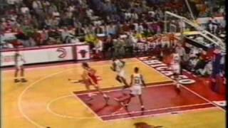 Bulls vs. Hawks 1993 game 2 (1/...)