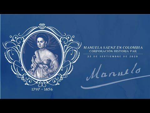 Homenaje a Manuela Sáenz