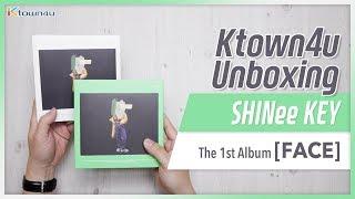 Gambar cover [Ktown4u Unboxing] SHINee: KEY - 1st Album [FACE] 샤이니 키 언박싱 Kpop