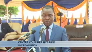 La poste du Bénin inaugure son centre de courrier hybride