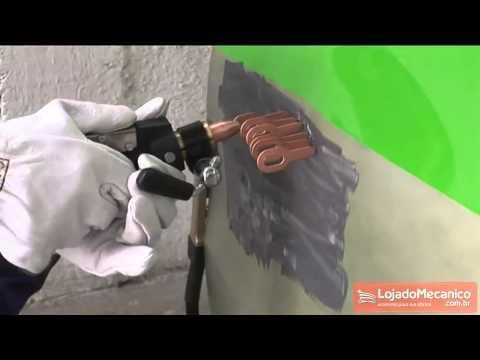 Repuxadora Elétrica Spotter 500 Grátis Protetor de Bateria P-12 - Video