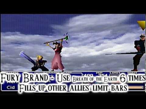Final Fantasy VII Limit Break Guide - Aeris Gainsborough