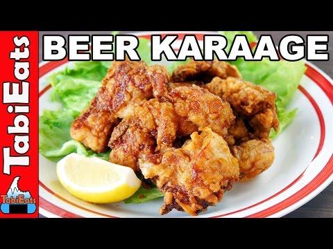 Beer-Battered Karaage (Japanese Fried Chicken Recipe)