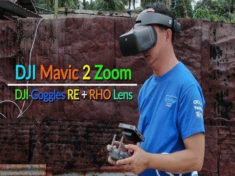DJI Mavic 2 Zoom + DJI Goggles Re + RHO Lens