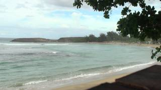 preview picture of video 'View from Happy Belly Isabela Puerto Rico'