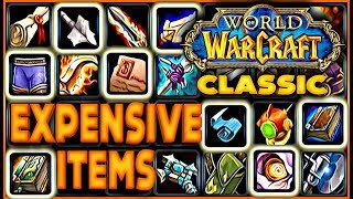 8 Vanilla WoW Rare & Expensive Items You Forgot but They'll Return in Classic WoW