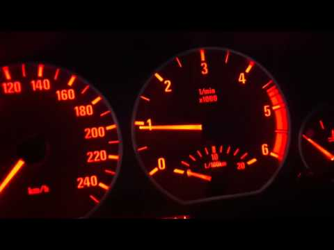 BMW E46 320D idle problem car is cold idle rpm ?? - смотреть