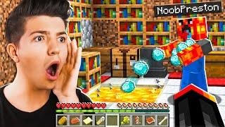 I Found NOOB Preston In Minecraft!