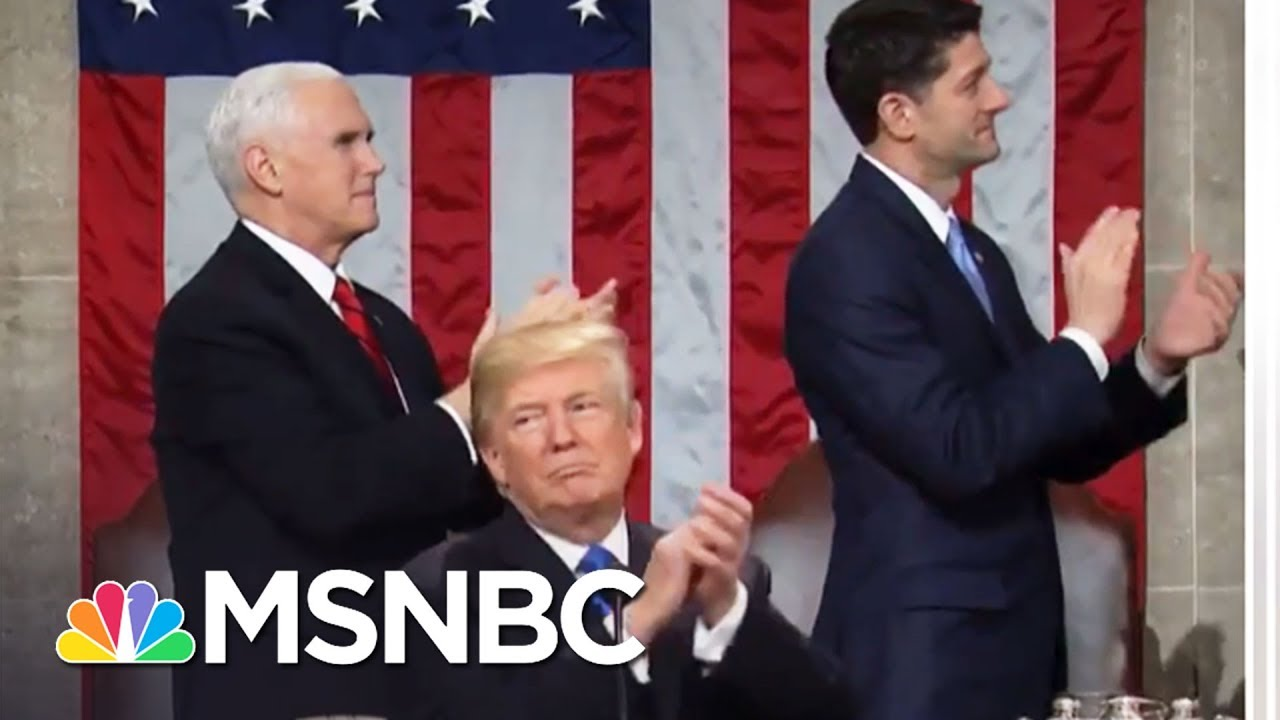 State Of The Union Applause Makes Headlines | MTP Daily | MSNBC thumbnail