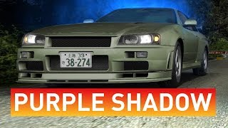 Initial D Arcade Stage 6 AA | Another Part 2 - Purple Shadow - Teknoparrot 1.06