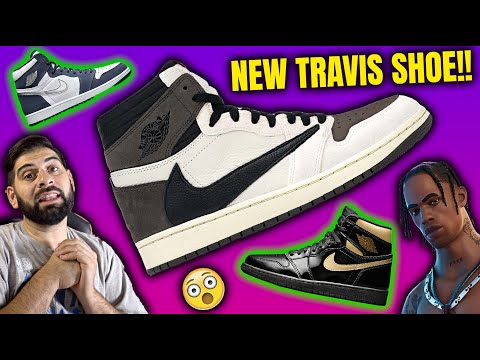 WTF NEW TRAVIS SCOTT JORDAN 1 IS COMING!! Kanye Wearing JORDANS?
