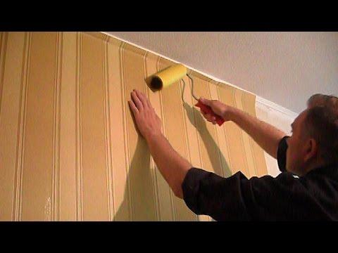 █ Как клеить обои на стены, (углы, арки, соединения и подрезка).