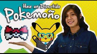 Pixelexip 04 :: Aprende a hacer un moño con tema de Pokemon