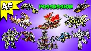Every Lego Ninjago POSSESSION Set - Complete Collection!
