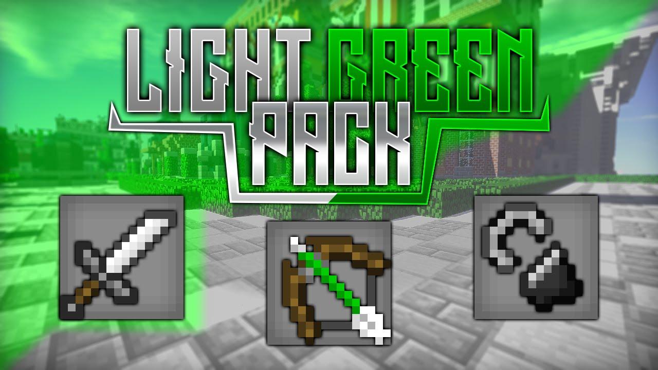 Light Green Pack 16x