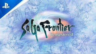 SaGa Frontier Remastered - Gameplay Launch Trailer | PS4