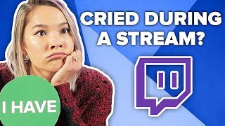 Streamers Play Never Have I Ever