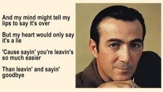Leaving and Saying Goodbye ~ Faron Young