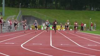 SHLV - LM Einzel (Büdelsdorf) Jugend U20/U16 - 22.07.2017 - 100m 3. VL W14