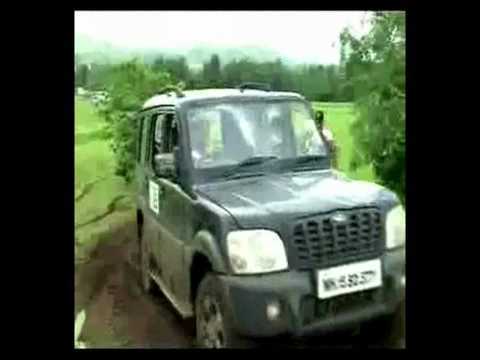 Mahindra Scorpio Off-Roading Video
