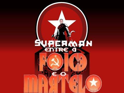 Quadrinho: Superman Entre a Foice e o Martelo