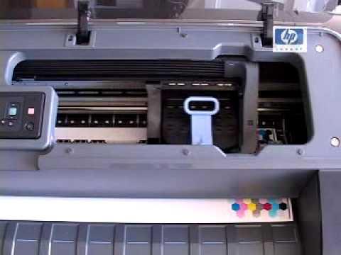 Calibración de color impresora hp z2100 tinta recarga cartucho