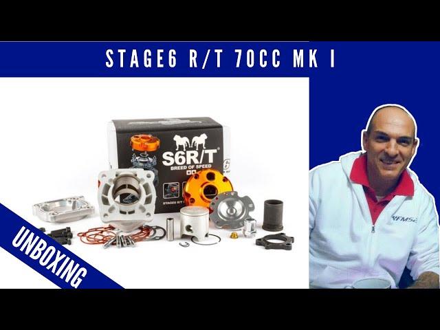 Motore gruppo termico cilindro Stage6 R/T 70cc MK I Minarelli LC, ricambio S67516602