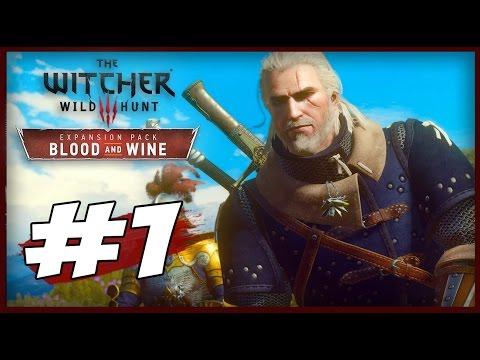 The Witcher 3: Wild Hunt - Blood & Wine - Parte 1 - Bem-Vindos a Toussaint!!