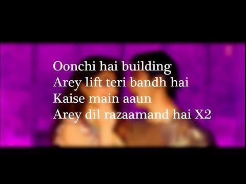 Download (LYRiCS)Oonchi Hai Building 2.0 Full Lyrical Video – Judwaa 2 | Anu Malik, Neha Kakkar HD Mp4 3GP Video and MP3