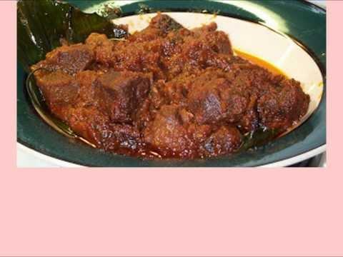 Video Resep Masakan Daging Rendang Padang