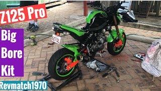 Z125 Pro Big Bore Kit Install