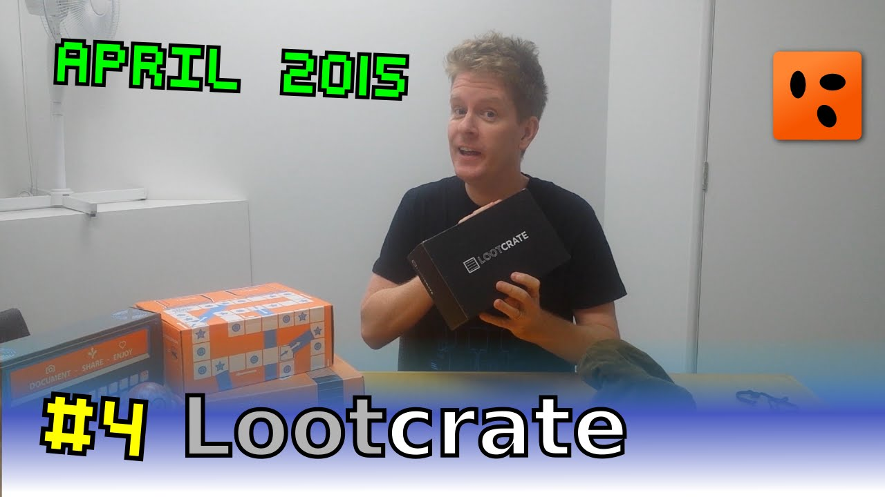 Mailbag Lootcrate | April 2015 - Fantasy