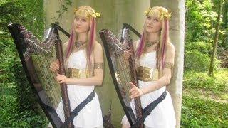 SAINT SEIYA Medley - Harp Twins - Camille and Kennerly
