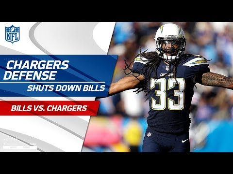 LA Dominates Buffalo w/ 5 Picks & 1 Forced Fumble! | Bills vs. Chargers | Wk 11 Player Highlights