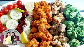 Hyderabadi Chicken Platter recipe in Hindi Shadiyonwala chicken platter Chicken Kababs recipe