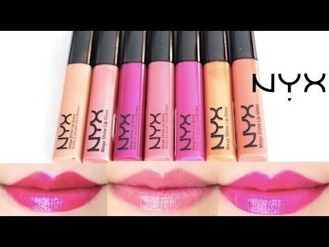Nyx Cosmetics Mega Shine Lip Gloss Price In The Philippines