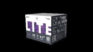 "Салют ""Пиролайт  PP 7"" (0,7""х30) + Подарок от компании Интернет-магазин SalutMARI - видео"
