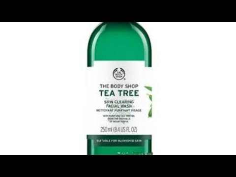 The body shop tee tree skin cleansing face wash review, best face wash review:-