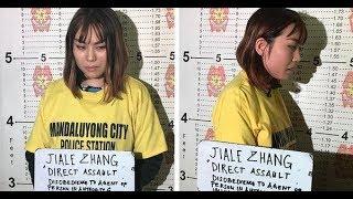 24 Oras: Chinese na nagsaboy ng taho sa pulis sa MRT, arestado