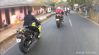 preview picture of video '7) Mumbai to Goa IBW Super Bike ride 2014 (videos clubbed 9-10)'