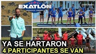 ¡¡ULTIMA HORA!! 4 PARTICIPANTES QUIEREN ABANDONAR EL EXATLON ESTADOS UNIDOS TEMPORADA 2