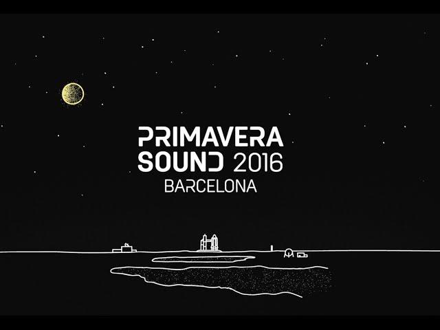 """Primavera Sound """"Line up"""" 2016"""