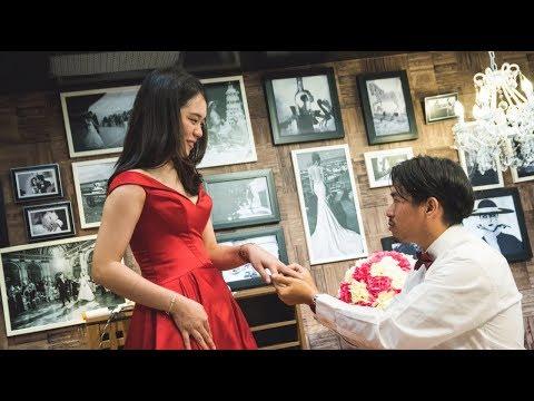✨『能遇見妳 是我這輩子最幸運的事』-婚紗店驚喜求婚