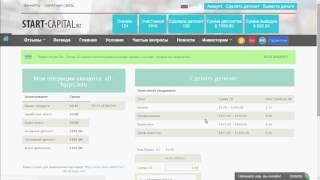 Start-Capital Высокодоходный Заработок HYIP Инвестирование