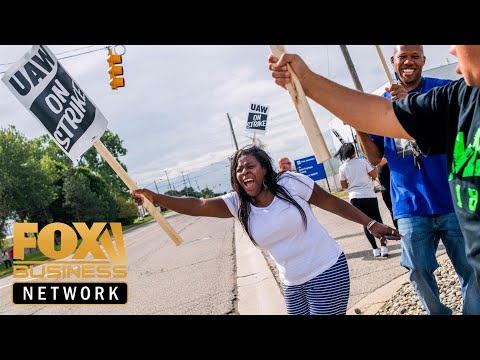UAW members walk out on GM over contract dispute