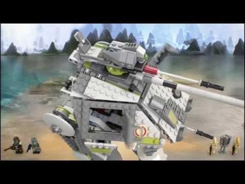 Vidéo LEGO Star Wars 75043 : AT-AP