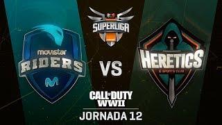 MOVISTARS RIDERS VS TEAM HERETICS | Superliga Orange COD | (Jornada 12)