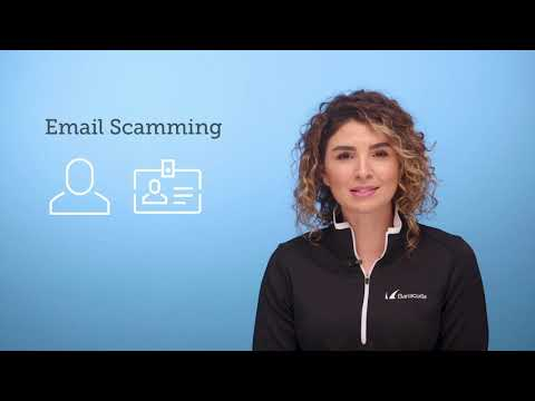 Email threat types:  Email scamming
